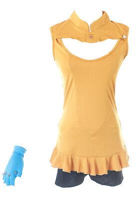 MN-81 Seven 7 Deadly Sins Diane orange Oberteil Shorts Fasching Kostüm Cosplay