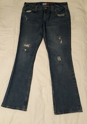 Vintage Women's Aeropostale Jeans Size 17/18 Chelsea Long Skinny Bootcut  Aeropostale Bootcut Jeans