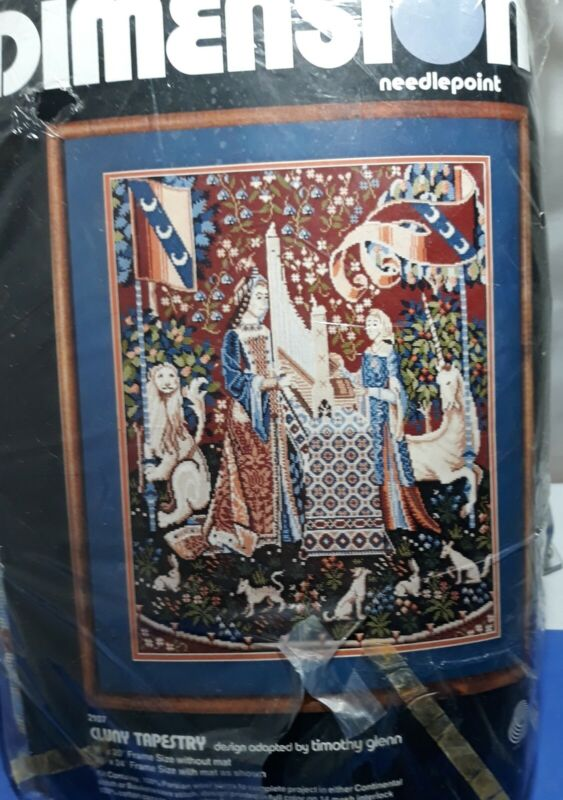 Dimensions 2107 Cluny Tapestry 1979  Open