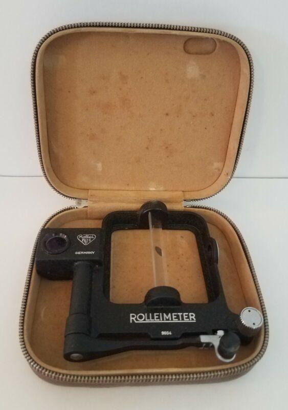 Rollei Rolleiflex Camera Rolleimeter 2.8 Rangefinder Unit Unknown Condition Case