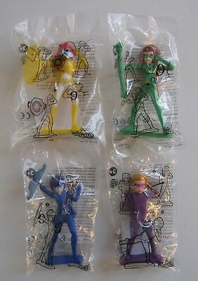 2018 Burger King MYSTICONS Toys Complete Set Of 4 *Free Shipping*