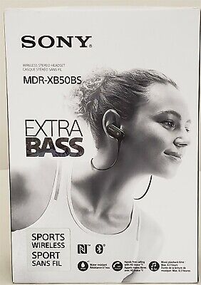 Sony Extra Bass Bluetooth Headphones, Best Wireless Sports Earbuds with