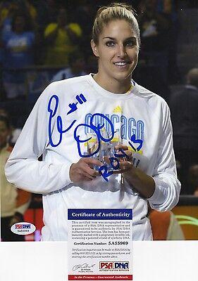 Elena Delle Donne Wnba Chicago Sky Roy Signed Autograph 8 X 10 Photo Psa Dna