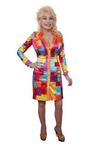 DOLLY PARTON LIFESIZE CARDBOARD STANDUP STANDEE CUTOUT COAT OF MANY COLORS