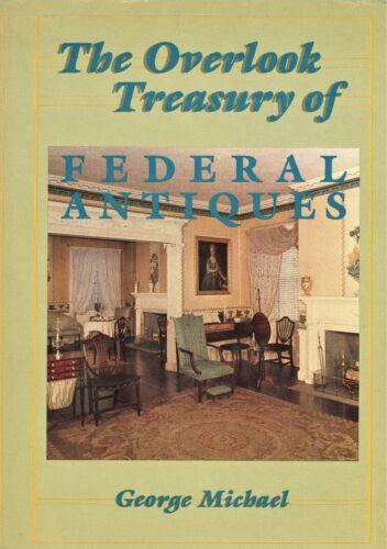 Federal Period Antique Furniture Design Decorative Arts / Scarce Scholarly Book