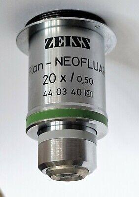 Zeiss Objective Plan-neofluar 20x.50 44 03 40 M27