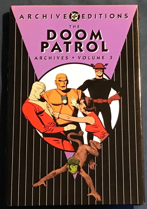 The Doom Patrol Volume #3 DC Archives Silver Age Reprints