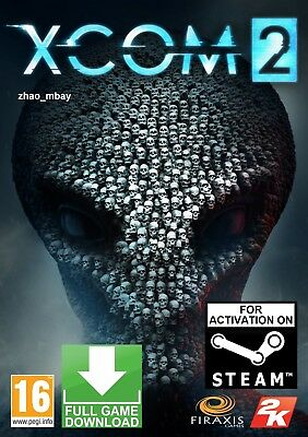 XCOM 2 PC GAME GLOBAL STEAM KEY FAST DELIVERY! [NO CD/DVD] for sale  Shipping to Canada