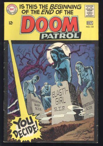 Doom Patrol (1963) #121 Death Of The Doom Patrol Last Silver Age Issue Fine -