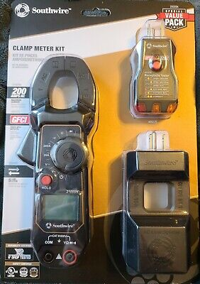 New Southwire Clamp Meter Kit Clamp Meter Leads Line Splitter...