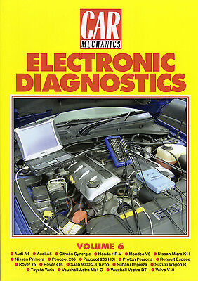 Car Mechanics Electronic Diagnostics Reprint Books Volume 6