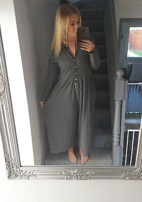 JACKPOT WOMENS CURVY VTG RETRO LOUNGE BUTTON-UP ALL IN ONE JUMPSUIT UK 18