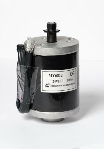 MY6812B 100W 24V Electric Motor 9T Sprocket Scooter Razor E100 Pulse EM Chopster