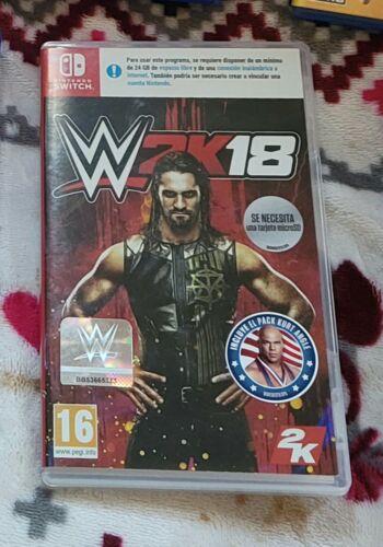 2K 45953 WWE 2K18 for Nintendo Switch Video Game euro versio