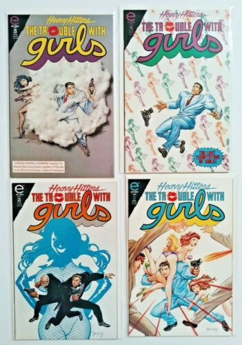Heavy Hitters The Trouble With Girls Night of the Lizard #1,2,3,4 Epic Comics
