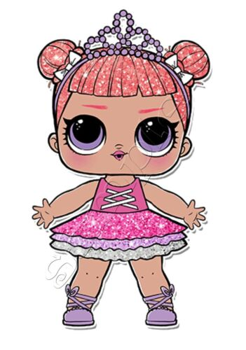 Iron on transfer lol surprise doll dolls center stage - Diva lol surprise ...