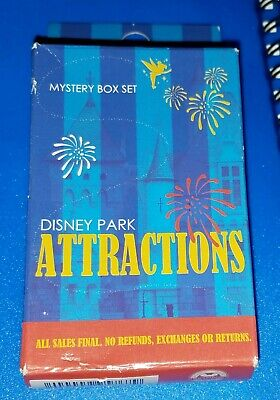 Disney Pins Disney Park Attractions Collection Two Mystery Pin Box SEALED