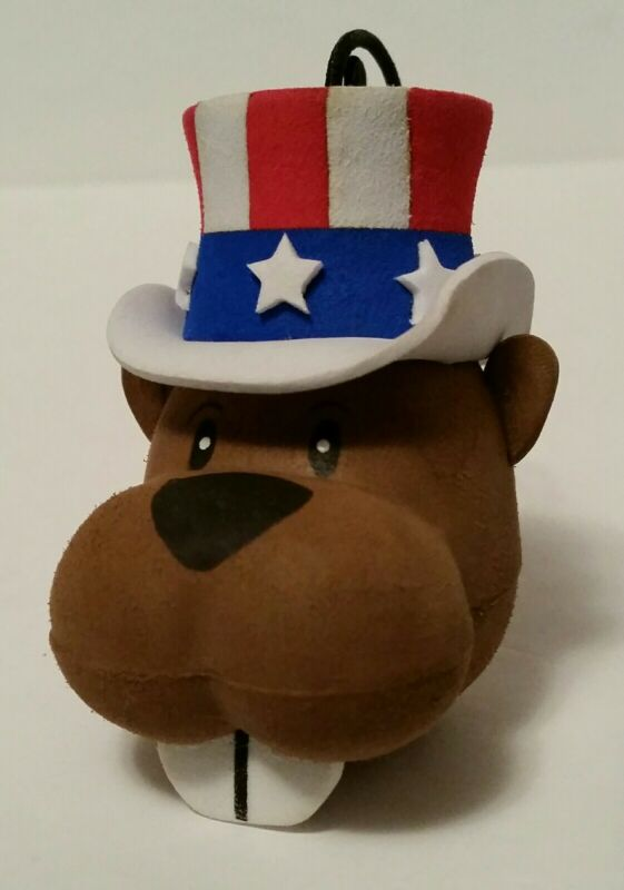 OSH Orchard Supply Hardware PATRIOTIC Beaver Cooltopper Coolballs Antenna Topper