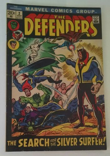 The Defenders #2 (Oct 1972, Marvel)