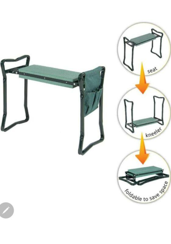 Set of 2 two Garden Seat Kneeler Foldable Garden Bench Knee Pad Home