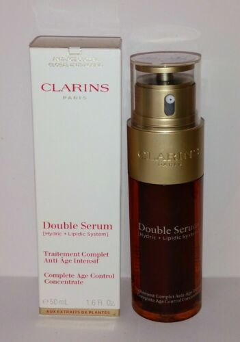 CLARINS Double Serum Complete Age Control - Large Size  50ml/1.6 oz. NEW in Box
