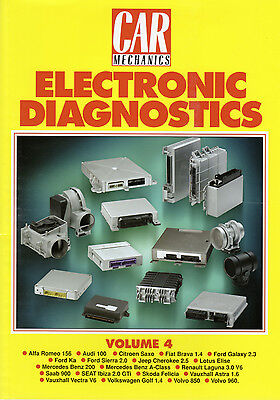 Car Mechanics Electronic Diagnostics Reprint Books Volume 4
