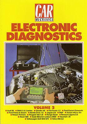 Car Mechanics Electronic Diagnostics Reprint Books Volume 2
