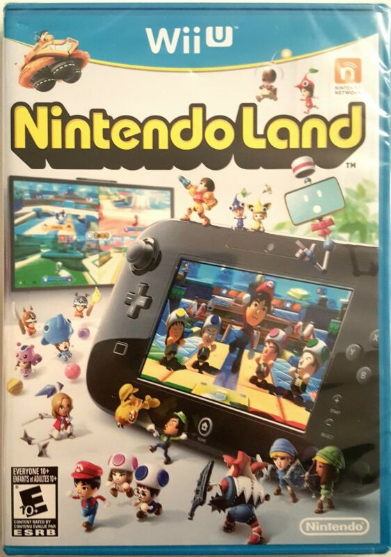 Nintendo Selects: Nintendo Land Nintendo Wii U WUPPALC3