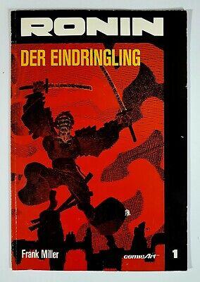 DC COMICS Frank Miller RONIN #1 DER EINDRINGLING dt. comic Art 1990 Z1-2