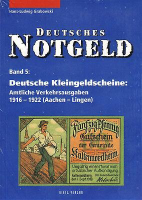 Deutsches Notgeld, Bd.5+6, Dt. Kleingeldscheine 1916-22