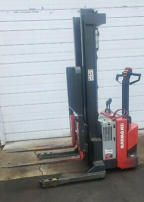 Raymond Rss40 Electric Walkie Pallet Stacker Forklift
