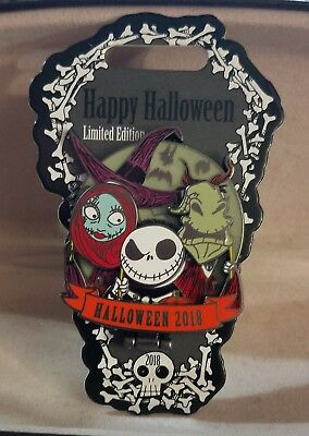Day Before Halloween (Disney Pin Halloween Day Nightmare Before Christmas Le 4000 Glows in the)