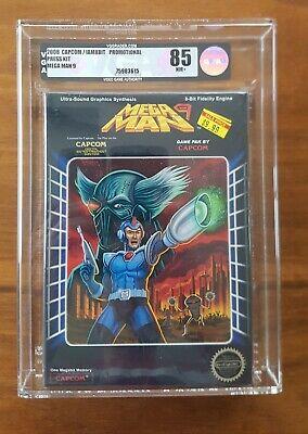 Capcom MEGA MAN 9 - Press Kit - very rare VGA 85...