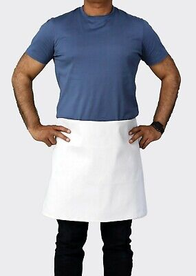 34 X 34 4-way White Waist Apron For Commercial Use