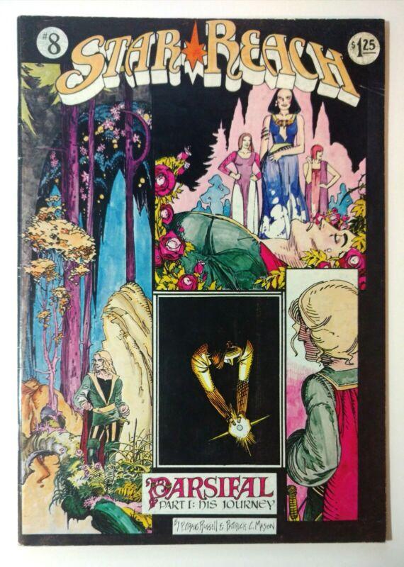 Star Reach #8 2nd Print (1977) P Craig Russell - Ken Steacy - John Workman