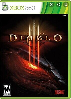 Xbox 360 Diablo III 3 Brand New Sealed