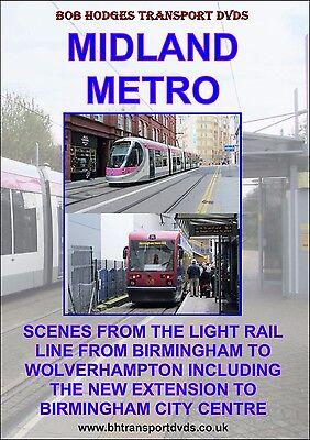 Midland Metro, The Light Rail Line From Birmingham To Wolverhampton DVD