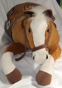 Huge Plush Horse