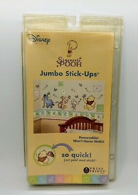 Disney Winnie the Pooh Jumbo Wall Stick-Ups by Priss Prints