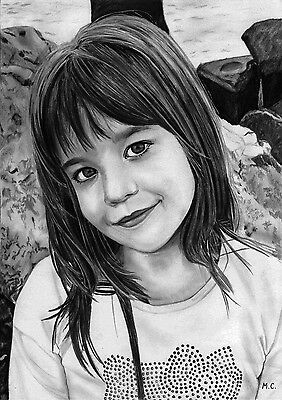 Professional pencil portrait from your photo (Special offer!!! FREE SHIPPING!!!)