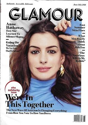 Glamour Outfit Ideas (Glamour Magazine Anne Hathaway Vacation Outfit Ideas Fast Summer Skin Fixes)