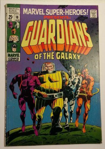 Marvel Super-Heroes 18 / 1969 FN 6.0 / 1st app/origin of Guardians of the Galaxy