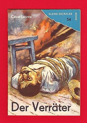 DDR Kleine Erzähler-Reihe Nr. 54 Der Verräter 1965 TOP