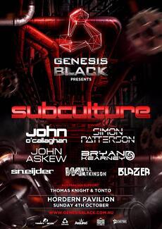 S> Genesis Black Subculture Sydney Burwood Burwood Area Preview