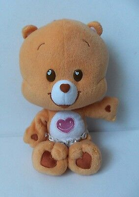 Care Bear Cubs Plush Soft Toy Orange Tenderheart Cub w Diaper Play Along Teddy
