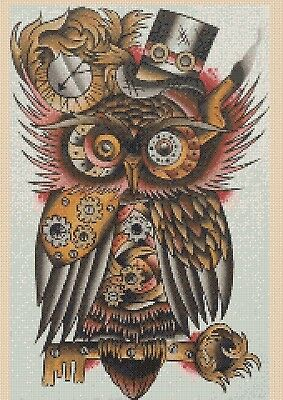 Owl Counted Cross Stitch Chart No. 2-392/11