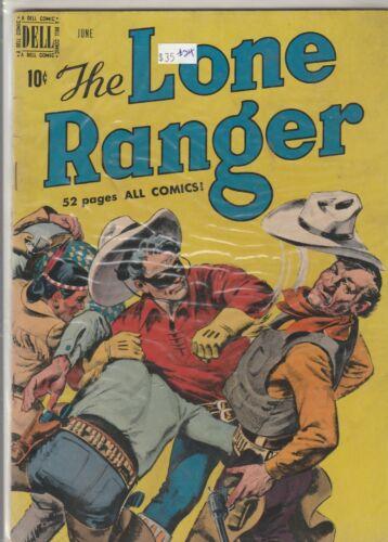 1950 Dell TV comic, Lone Ranger #24