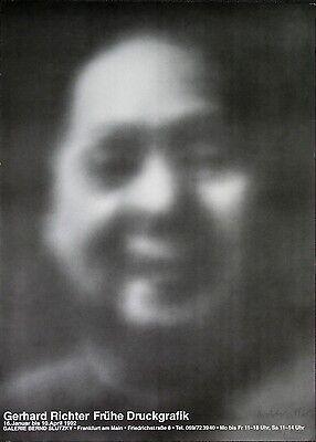"""Gerhard Richter """"Mao"""" 1969, auf einem Poster von 1992"""