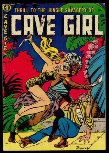 1953 Magazine Enterprises Cave Girl #12 VG+