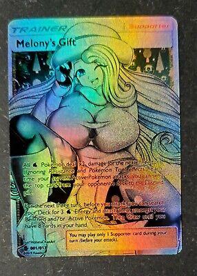 POKEMON: MELONY'S GIFT TRAINER FULL ART HOLO CUSTOM HANDMADE ORICA CARD NOT TCG